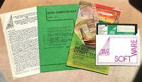 Apple II Hi-Res Computer Golf #34 by Avant-Garde 1981 Complete w/Manual