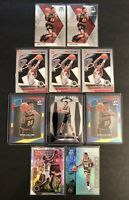 John Collins 10 Card Lot Prizm Rookie Optic Red Yellow Blue Rookie Atlanta Hawks