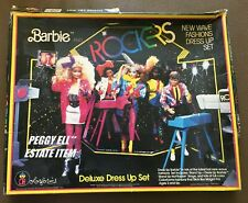 "1986 MATTEL'S & COLORFORMS ""BARBIE & ROCKERS PLAY SET IN ORIG BOX & BROCHURE"