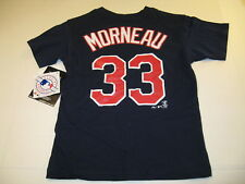 Justin Morneau Minnesota Twins #33 Baseball Jersey T-Shirt New! Nwt Boys Med 5 6