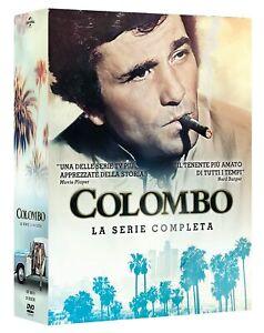 Dvd Colombo La Serie Completa - Stagioni 1-7 (24 DVD) ⚠️ SPEDIZIONE IMMEDIATA ⚠️
