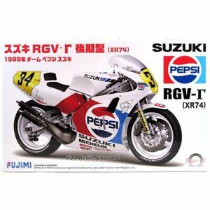 Fujimi 1/12 Scale Model Kit Team Pepsi Suzuki RGV-Gamma XR74 1988 K.Schwantz