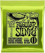 Corde per chitarra elettrica Ernie Ball Regular Slinky Nound, Sezione 10 46
