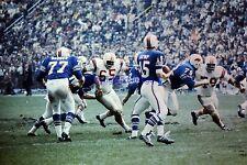 Buffalo Bills VS Patriots Jack Kemp Houston Antwine 9-24-1967 8X10 Photo