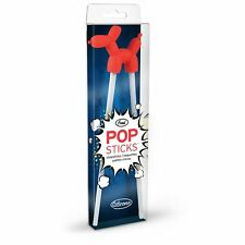Fred Silicone Balloon Dog Popsticks Hinged Chopsticks Kitchen Tool