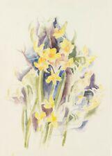 Small Daffodils, 1914, CHARLES DEMUTH, Modernist, Impressionist Art Poster