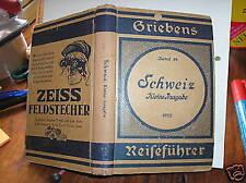 Bildband/Illustrierte-Ausgabe Antiquarische Bücher aus Europa für Reiseführer & Reiseberichte