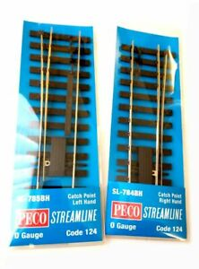 Peco O Gauge Catch Points Code 124 - Please Choose From Listing