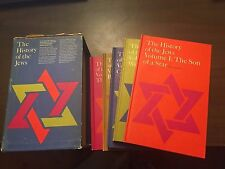 The History Of The Jews Book Collection. 5 Books By Paul Borchsenius 1957