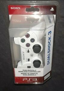 [OFFICIAL SONY OEM] Factory Sealed Dualshock3 (NEW CERAMIC WHITE PS3 CONTROLLER)