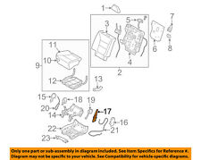 KIA OEM 11-13 Sorento Second Row Back Rear Seat-Recliner 895201U110