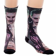 DC Comics Suicide Squad Joker Crew Socks New BIOWORLD