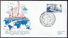 Sir Francis Chichester First Day Cover 24th July 1967 Plymouth - SG751