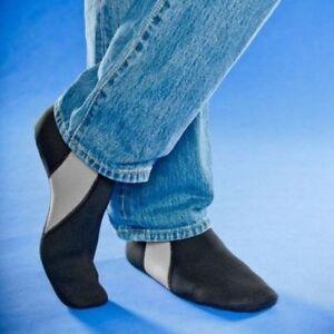 Nufoot Unisex Bootie Socks Flats Indoor 4-Way Stretch Water Resistant Gym