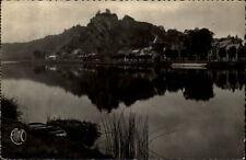 Givet France CPA 1955 Le Fort de Charlemont Blick über den See auf die Burg