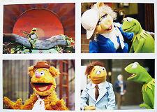 4 Disney Store Presale Lithographs The MUPPETS 2012 Kermit, Miss Piggy & Fozzie