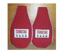 TSINGTAO BEER 2 BOTTLE COOLER COOZIE COOLIE KOOZIE RARE NEW