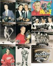 1992-93 UPPER DECK GORDIE HOWE HOCKEY HEROES SET w/ NNO SP/UD/DETROIT RED WINGS