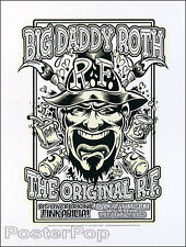 Dirty Donny Ed Roth 2008 Silkscreen Poster Rat Fink Car Show Mint Variant Ed 20