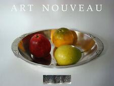 Grosse Jugendstil WMF Anbietschale, silver plated, Art Nouveau fruit bowl 1910
