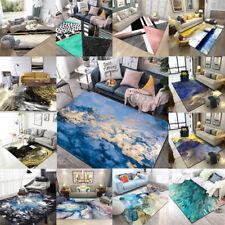 Fashion  Modern Gold Non-slip Livingroom Kitchen Bathroom Floor Mat Rug Carpet
