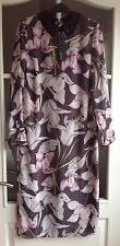Ladies Floral Mix Autograph At Marks And Spencer Long Dress - Size 10 NWT