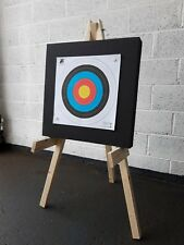 Archery Shooting Target and Stand Package Straw / Foam Boss Fita Faces & Pins