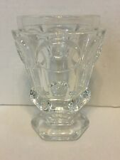"""60% OFF   Baccarat Hexagon Vase Clear 4 7/8"""" inches Tall EXC Condition"""