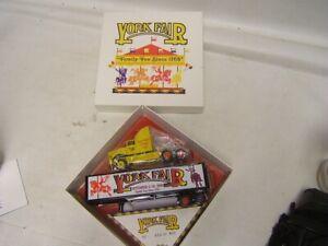 York Fair 1998 Family Fun Since 1765 Tractor Trailer Winross 1:64  MIB 650/800