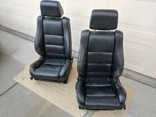 BMW M5 Factory Black leather Heated Sport Seats- in good condition Rare!!