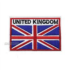 UK United Kingdom Flag Patch Embroidered National Flag Patch England BRITISH