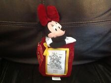 Minnie Mouse Photo Frame by Applause Disney New Holds 2 x 3 photo