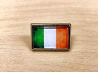 Irish Flag Lapel Pin Tie Tac Hat Pin