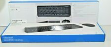 Lot of 2 - Microsoft 600 APB-00001 Wired QWERTY Keyboards