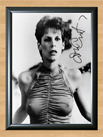 Jamie Le Curtis Trading Places Nude Signed Autographed A4 Photo Print Poster dvd
