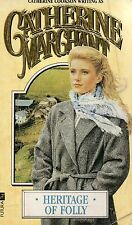 Heritage of Folly by Catherine Marchant (Paperback, 1989)