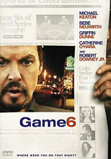 Game 6 (DVD, 2006) - Disc Only