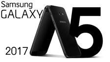 Samsung Galaxy A5 2017 SM-A520F 32GB LTE Black Sky, Nero
