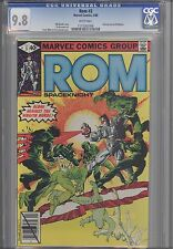Rom: The Space Knight #3  CGC 9.8 Marvel 1980 Before Transformers