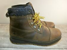 Men's Timberland Schazzberg Mid Waterproof Insulated Soft Toe Leather Boots 10