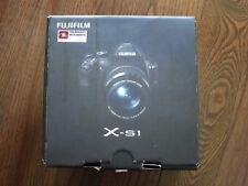 "Open Box Fujifilm X-S1 Black Digital Camera 12.0MP EXR 26x Optical Zoom 3"" LCD"