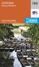 Oxford Explorer Map 180 OS Ordnance Survey