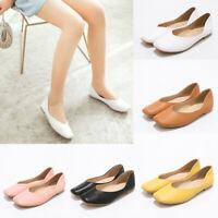 Fashion Women Square Toe Ballet Flats Comfortable Soft Sole Slip On Driving Shoe