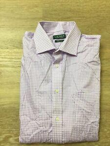 mens lauren Ralph Lauren ultraflex regular fit stretch fabric dress shirts polo
