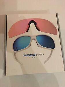 Tifosi Pro SF Kit - Model Launch SF, Matte White Style #1291201222 - NEW!!