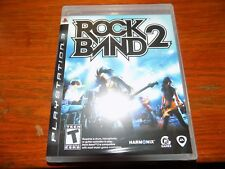 Rock Band 2 (Sony PlayStation 3, 2008) NEW FREE USA SHIPPING