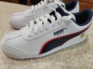 Puma Roma Scuderia Ferrari 339940-02 Men's Sneaker Motorsport Shoes White US 9