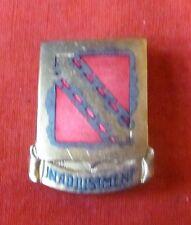 POST WW2 GERMAN MADE US ARMY 539th FIELD ARTILLERY  DI CREST OCCUPATION