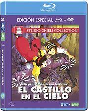 EL CASTILLO EN EL CIELO BLU RAY + DVD NUEVO ( SIN ABRIR ) ESTUDIO GHIBLI