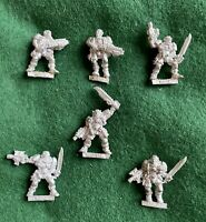 Warhammer 40k Space Marines Scout Scouts Squad + Sergeant Metal Games Workshop